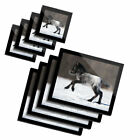 4x Glass Placemates  Coasters Cute Foal Horse Pony Snow 2130