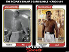 2021 Topps Muhammad Ali The People's Champ Collection Cards 8