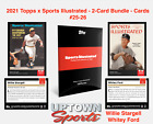 2021 Topps X Sports Illustrated Baseball Cards Checklist Guide 21