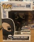 Funko Pop Marvel Winter Soldier Year of the Shield Amazon IN HAND W Protector