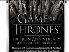 Game of Thrones Iron Anniversary Series One HOBBY BOX Factory Sealed 2 Autos