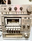 3 Part Vintage Sears LXI Series Stereo Tuner Cassette Deck  Amplifier