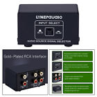 2 In 1 Out Or 1 In 2 Out Audio Source Signal Selector Switcher 1pcs Black