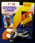 1992 Starting Lineup w/Poster ~ RICKEY HENDERSON ~ Oakland A's Headfirst Slide