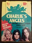 Charlie's Angels trading card sticker box 36 unopened packs 1977 Topps