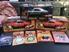 118 DUKES OF HAZZARD GENERAL LEE CHASE JOYRIDE W OTHERS LOT OF 8 READ HOTWHEEL