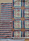 7 7 8 Yards of Folk Art Cats Cats Stars and Stripes fabric from Red Rooster