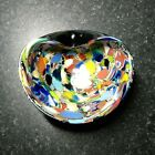 Fab Vintage Murano Glass Dish 1950s Toso company Simple design superb work