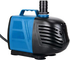 Uniclife 320 1000 GPH Submersible Inline Water Pump for Pond Pool Fountain Aquar