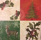NIP Anna Griffin CHRISTMAS ENGRAVINGS CARDSTOCK Paper Kit 96 Pieces RETIRED VHTF