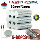 Lot N35 Powerful Round Disc Neodymium Magnets Adhesive Backing Rare-earth Magnet