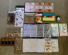 Lot of 23 Scrapbook Items Stickers Paper Pads Tags  More