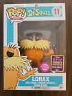 Funko Pop! Dr. Seuss Lorax (Flocked) 2017 Summer Convention Exclusive #11