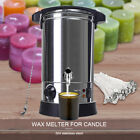 Wax Melter for Candle Making Electric 65L Wax Melting Pot Machine Temperature