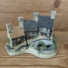 1987 David Winter Cottages Miner's Row The Midlands Collection COA Village