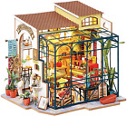 Rolife Diy Tiny House Miniature Dollhouse 3D Wooden Building Kit Gift For Birth