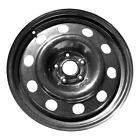 03942 New Compatible Black Steel Wheel 17x75 Fits 2013 2019 Ford Escape