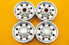 2002 Ford Excursion OEM F250 F350 Aluminum Wheels Rims and Center Caps