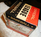 Vintage MINT Official League baseball,in box,sealed,No O-C,ultra rare