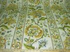 10 YDS BREAMORE FLORAL IKAT STITCH LINEN DRAPERY UPHOLSTERY FABRIC FOR LESS