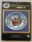 Dimensions The Gold Collection Cross Stitch Kit 8664 Santas Sleigh NIP