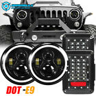 Fit For Jeep Wrangler JK 2007 2017 Combo 7inch LED Headlights Tail Lights Kits