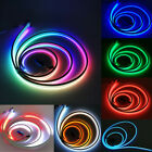 WS2812B 5050 RGB Neon Tube Flexible LED Sign Light Strip 5V Rope Wire Waterproof