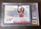 Lebron James 2003-04 Ultimate Collection Rookie Auto Bgs 9 10