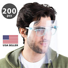 Face Mask Shield Safety Protector Reusable Clear Cover Wholesale 200 pcs
