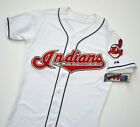 VINTAGE CLEVELAND INDIANS MAJESTIC AUTHENTIC MLB JERSEY SZ.40 MED! 2000s,NEW!