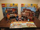 Lego The Simpsons LOT 71006 House and 71016 Quick E Mart COMPLETE