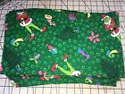 CHRISTMAS FABRIC LOT 3+ YARDS THE GRINCH CHRISTMAS MATERIAL RARE LOT