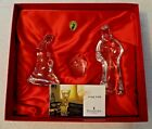 Waterford Crystal Nativity Collection Holy Family Set of 3 Made in Ireland