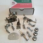 Set of 11 Singer Sewing Slant Shank Machine Attachments 301a 401a 403 500a 503