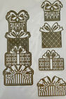 Anna Griffin Gift Dies NIP Rare Holiday Christmas Presents Cuts  Emboss