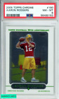 2005 TOPPS CHROME AARON RODGERS #190 PACKERS ROOKIE RC PSA 8 NM-MT