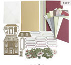 Anna Griffin Finishing School Holiday Open House w 14 Dies  Card Set NIP