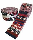 Made in USA Jelly Roll Collection 40 Precut 25 inch Quilting Fabric Strips