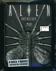 Alien Anthology Ltd Edition Facehugger Relief 6-Disc Blu-ray Box (2010, Rare)