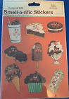 Vintage 80s Stickers Scratch  Sniff Chocolate