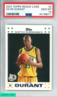 Kevin Durant Rookie Cards and Autographed Memorabilia Guide 10