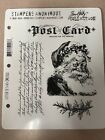 Stampers Anonymous CMS053 Tim Holtz Stamp Set Letter to Santa RETIRED