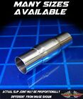 304 Stainless Exhaust Header Double Slip Joint 2 1 2