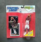1993 Kenner Starting Lineup Glen Rice Rookie Action Figure & Trading Cards ~ NIP