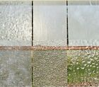 Stained Glass Variety Pack Clear Textured 6 Sheets 8 x 12