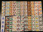 Vintage Sandylion Stickers 88 Roll mod pearl fuzzy prism rare collection 80s 90s