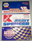Lot of 3 NASCAR ACTION Diecast 1 24 Scale 15 Waltrip 26 Spencer 96 Green