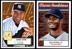 2001 Topps Heritage Baseball Complete Master Set 522 Cards NM w 3 Insert Sets