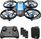 4DRC V8 Mini Drone for Kids Beginners Toy Hand Operated Remote Control with 3