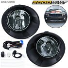 Fit For 2010 2013 Chevy Camaro Smoked Lens Fog Lights Lamp+Wiring+Switch Set